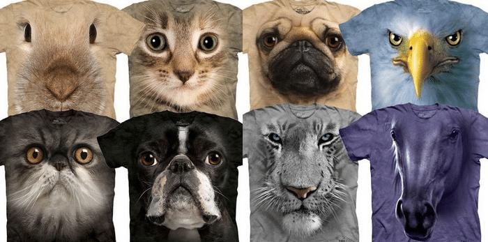 Animal Face para Homens