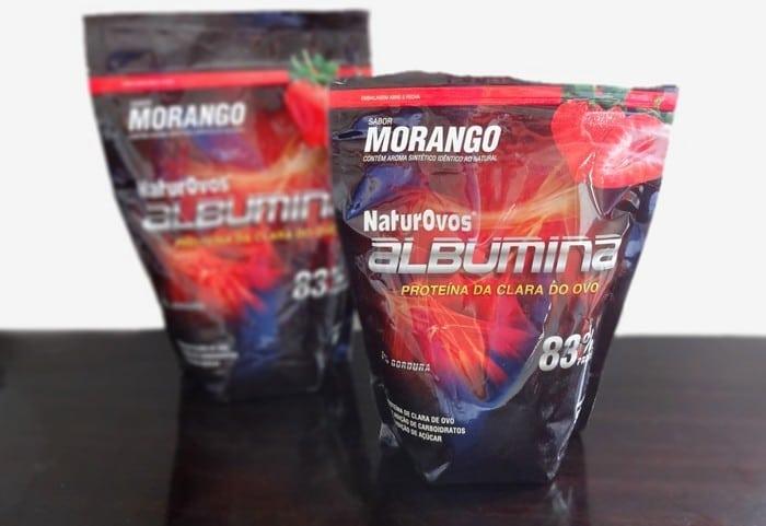 Como consumir albumina