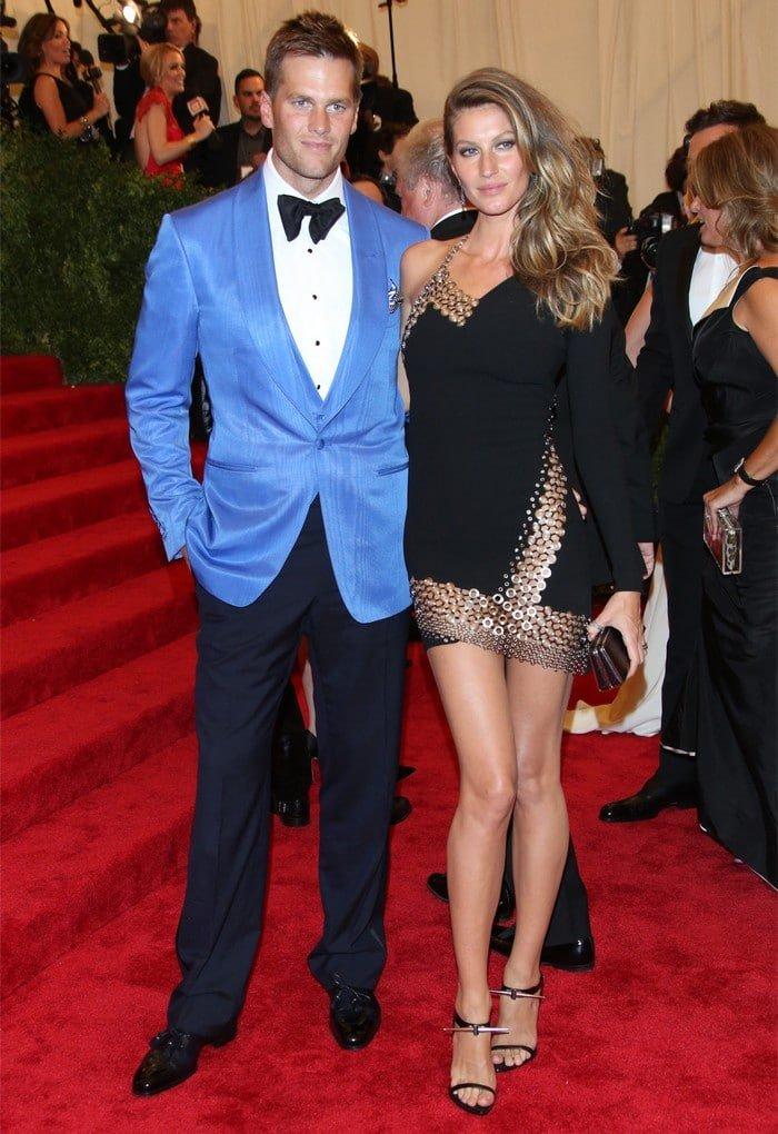 Tom Brady MET Gala 2013