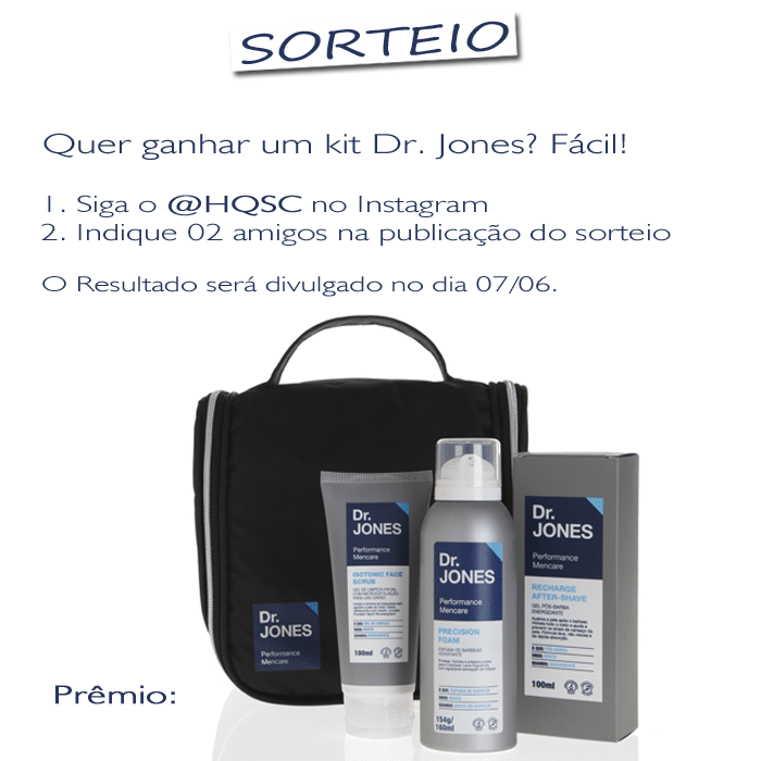 sorteio dr jones