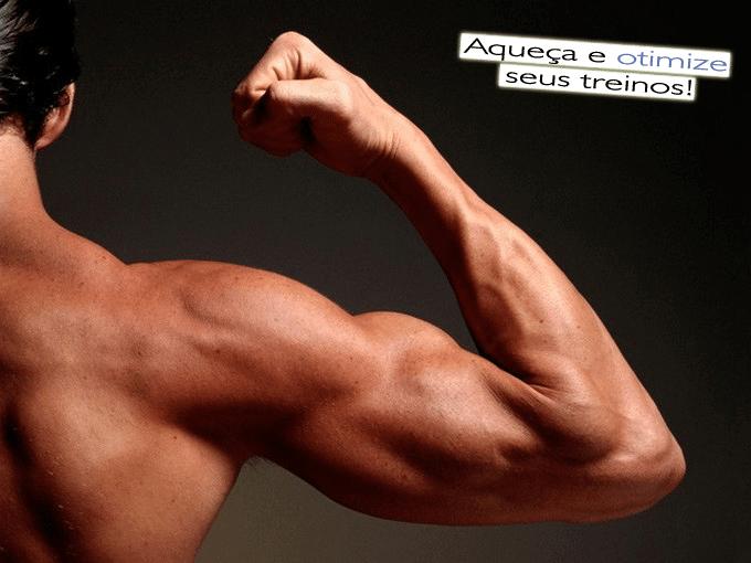 Aquecimento para musculação
