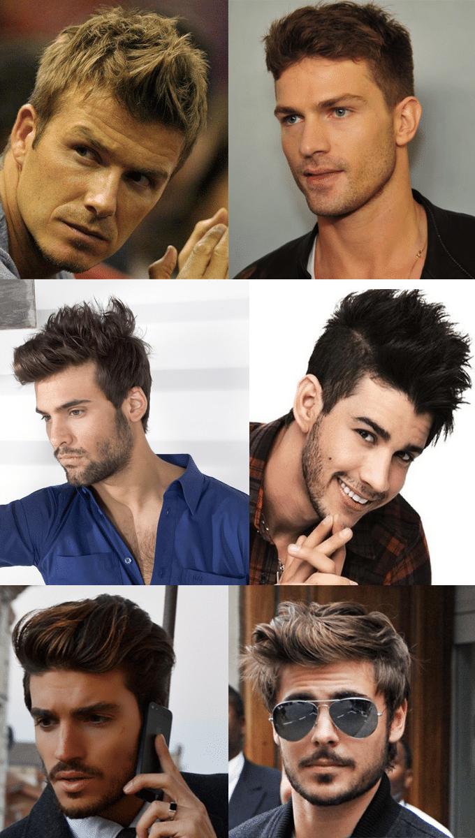cortes masculinos
