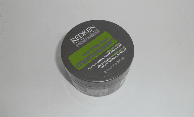pomada Redken For men warking wax manuever