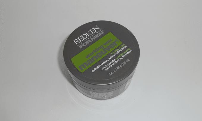 pomada Redken For men warking wax manuever