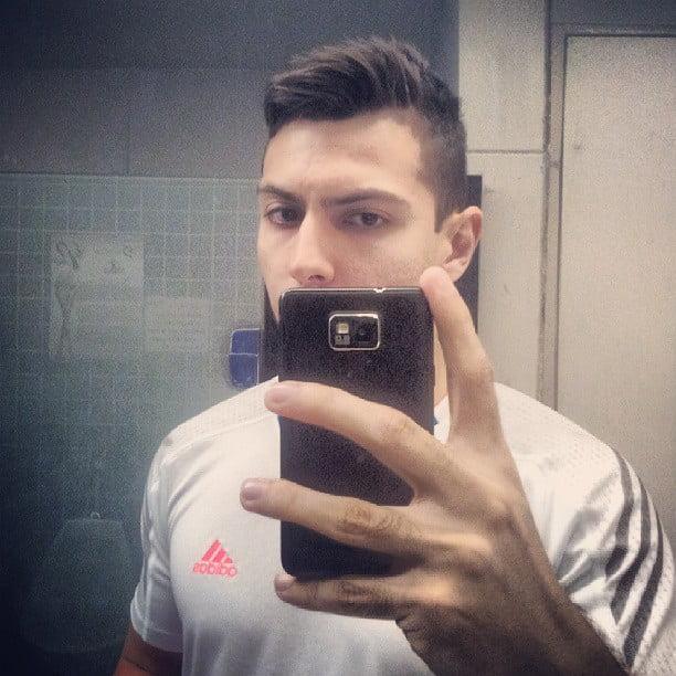 Juan Alves  -cabelo undercut masculino