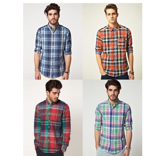 Moda Masculina HQSC - Camisa Xadrez - Cópia - Cópia