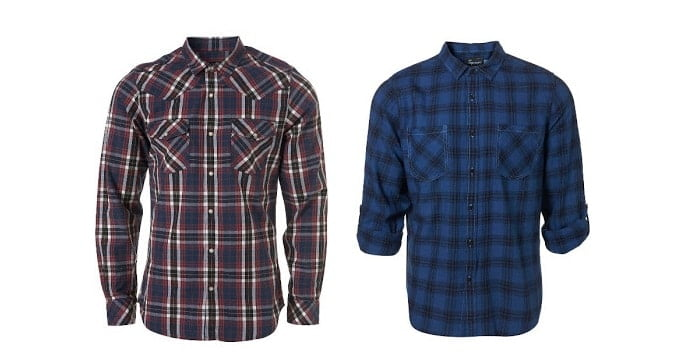 Moda Masculina HQSC - Camisa Xadrez
