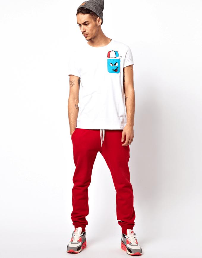 calça vermelha masculina 3