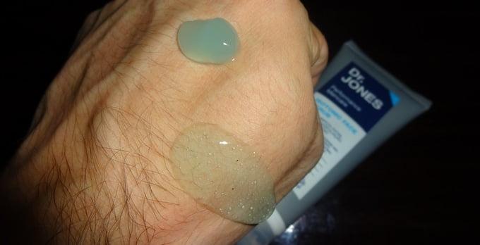Gel pós-barba e Gel de limpeza Dr. Jones Textura (HQSC)