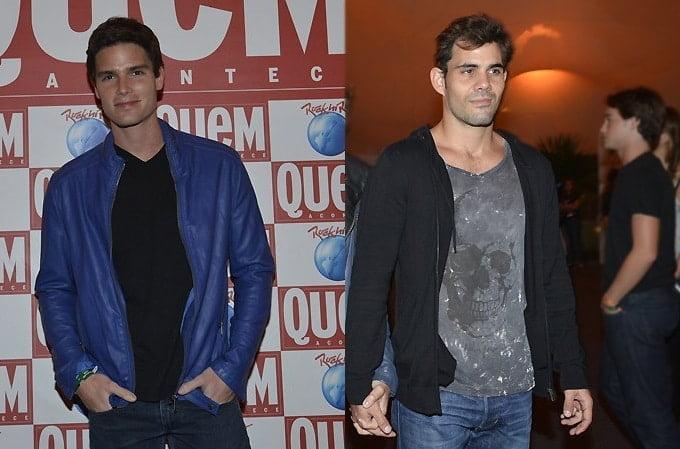 Jonatas Faro e Juliano Cazarré RIR - HQSC