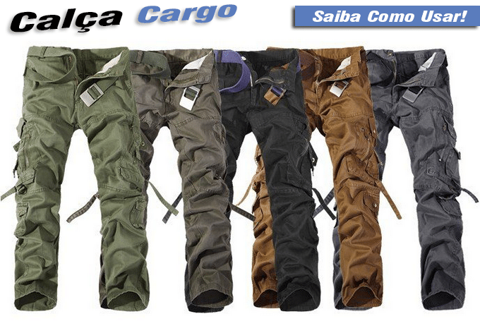 calça cargo masculina como usar - HQSC - 2