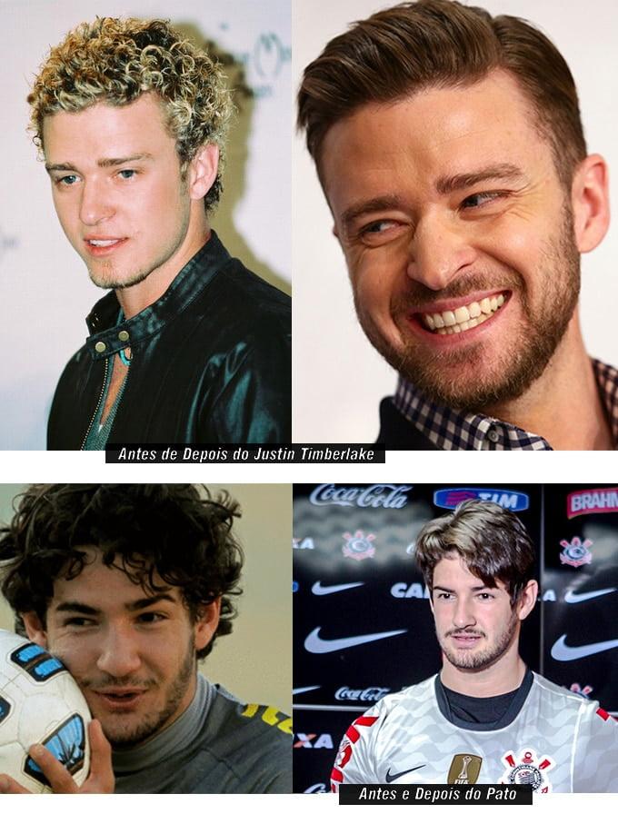 Antes e Depois da Escova Progressiva Masculina - HQSC