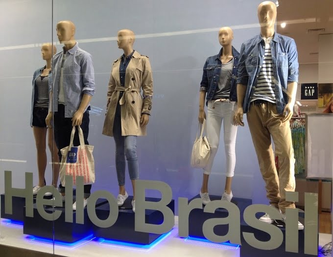 Gap no Brasil -  HQSC