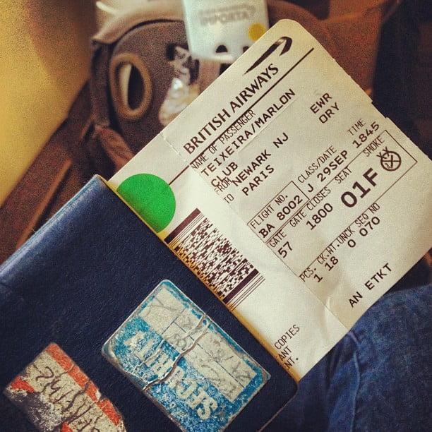 Passaporte Marlon Teixeira - HQSC