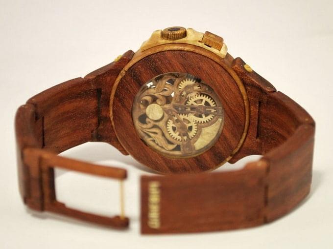 Relógio de Madeira para Homens - HQSC 2 (2)