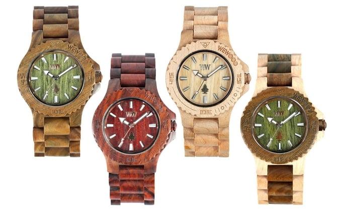 Relógio de Madeira para Homens - HQSC 66