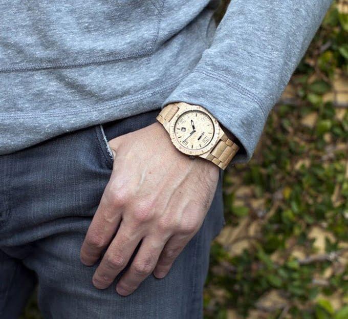 Relógio de Madeira para Homens - HQSC 8