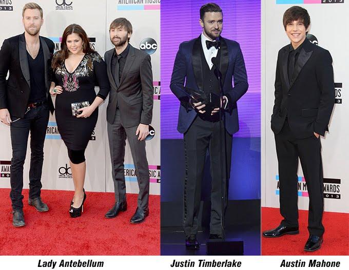 Lady Antebellum, Justin Timberlake e Austin Mahone - AMA 2013 - HQSC