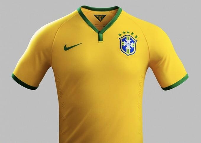 Nova Camisa da Seleção Brasileira para Copa - HQSC 1