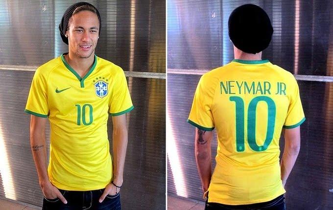 Nova Camisa da Seleção Brasileira para Copa - HQSC 2