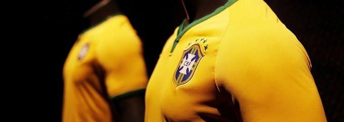 Nova Camisa da Seleção Brasileira para Copa - HQSC