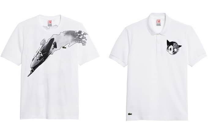 Lacoste Live lança coleção inspirada em mangás - HQSC 1