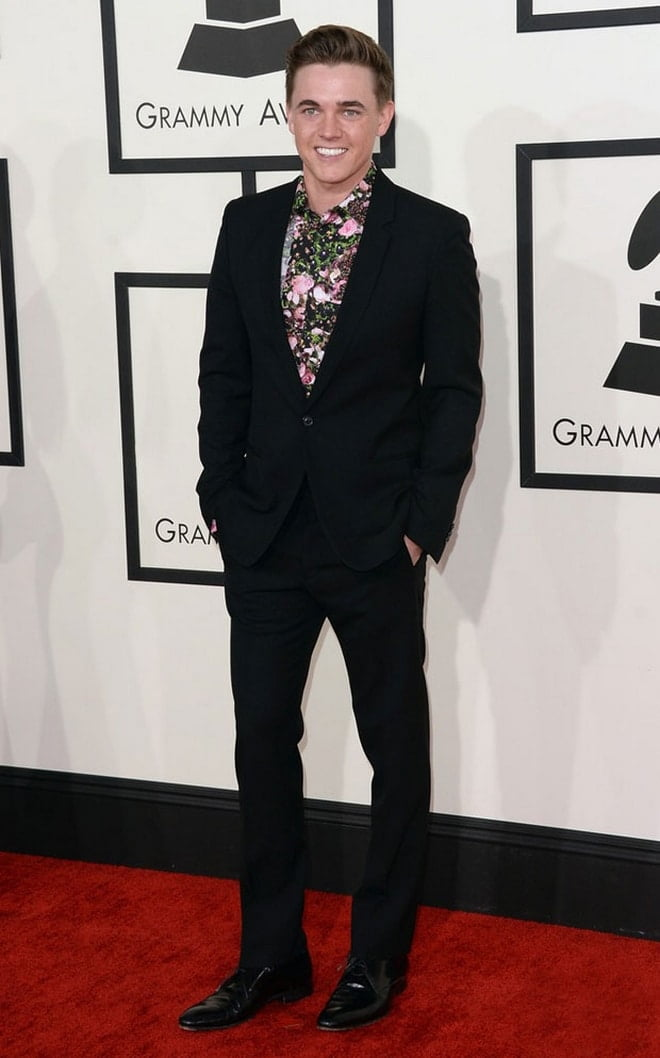 Jesse McCartney no Grammy 2014 - HQSC