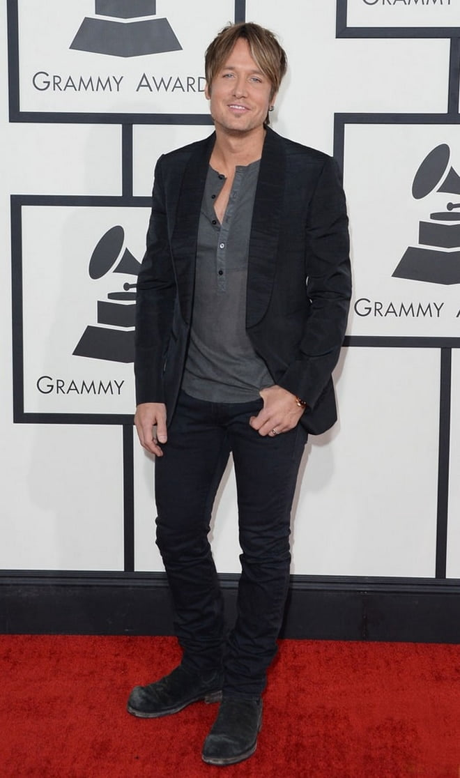 Keith Urban no Grammy 2014 - HQSC