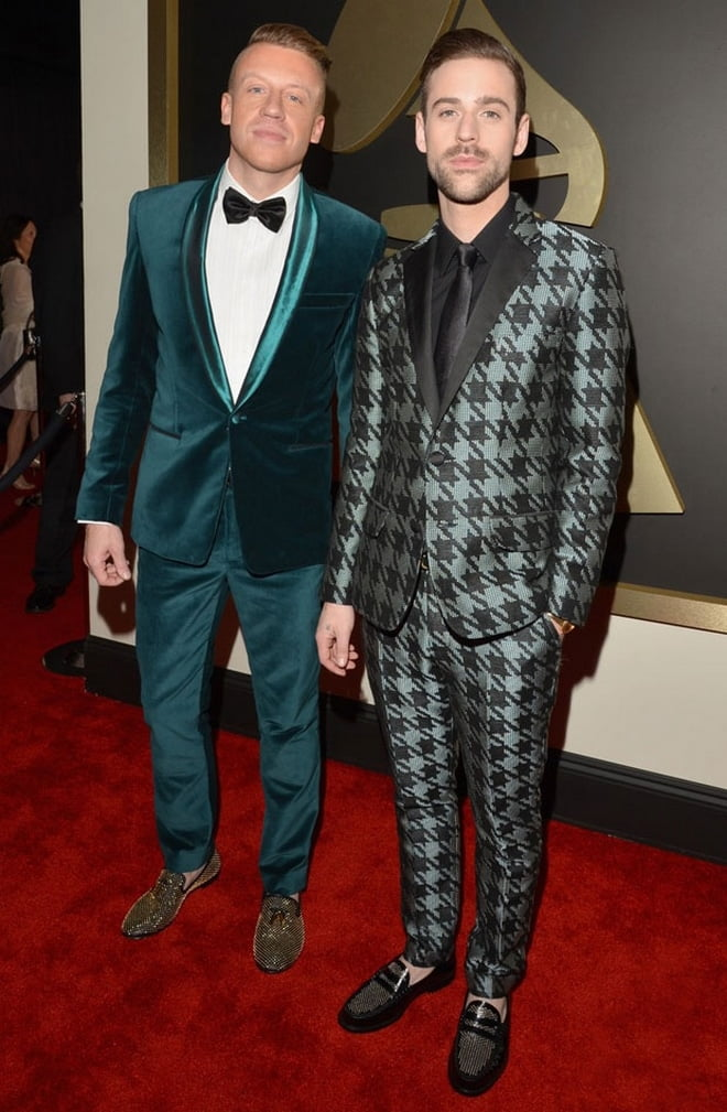 Macklemore and Ryan-Lewis no Grammy 2014 - HQSC