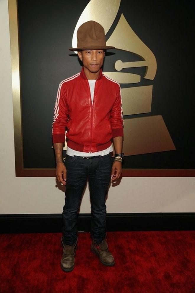 Pharrell Williams no Grammy 2014 - HQSC