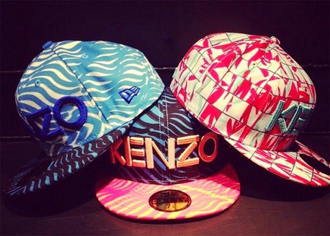 Coleção New Era e Kenzo 1 - HQSC
