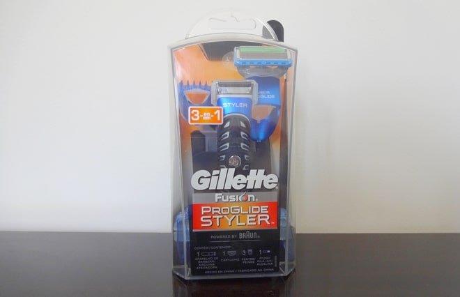 Novo Fusion ProGlide Styler da Gillette - HQSC