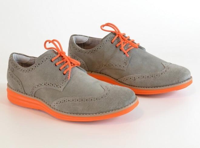 Tendência calçados com sola colorida Green Grass Golf - HQSC 1