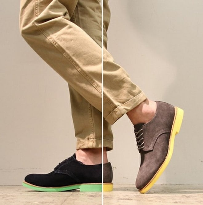 Tendência calçados com sola colorida - HQSC 1
