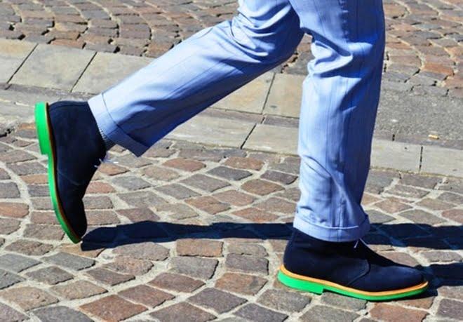 Tendência calçados com sola colorida - HQSC 3