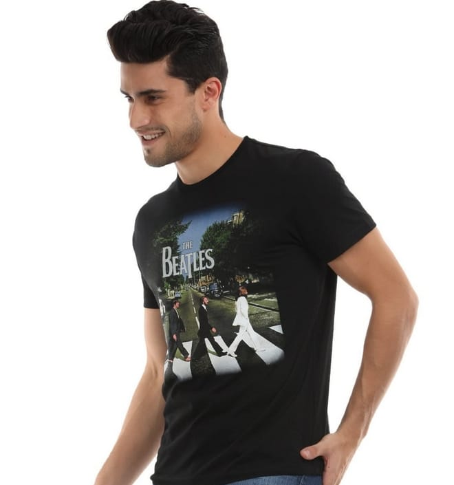 2 Camiseta de banda Beatles - HQSC