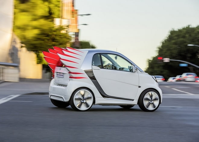 A versão do Jeremy Scott para o Carro Smart - HQSC 2