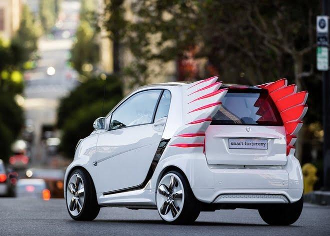 A versão do Jeremy Scott para o Carro Smart - HQSC 3