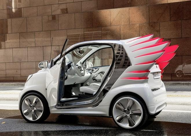 A versão do Jeremy Scott para o Carro Smart - HQSC 4
