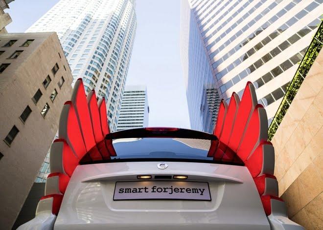 A versão do Jeremy Scott para o Carro Smart - HQSC 6