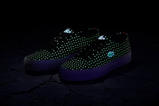 Lacoste e Atmos Sapatos que brilham no escuro - HQSC 3