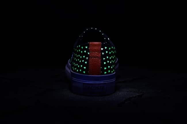Lacoste e Atmos Sapatos que brilham no escuro - HQSC 5