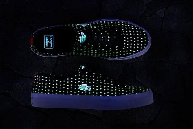 Lacoste e Atmos Sapatos que brilham no escuro - HQSC 7