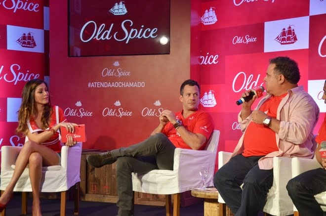 Linha de Antiitranspirante Old Spice Chega ao Brasil - HQSC 1