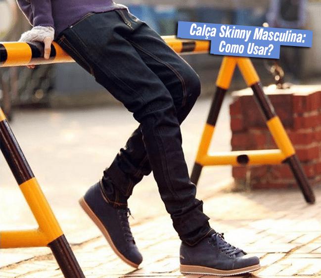 Calça Skinny Masculina - HQSC 1