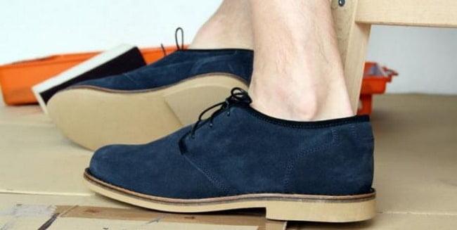 Como limpar sapato camurça HQSC 2
