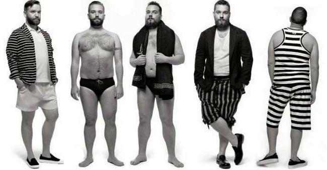 Dicas de moda masculina para gordinhos  HQSC 4