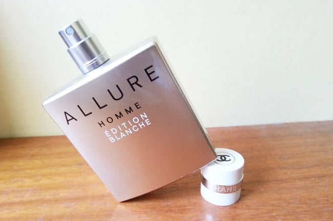 Perfume Allure Homme Blanche da Chanel HQSC 2