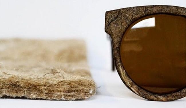 Óculos com armação feita de maconha HQSC 3