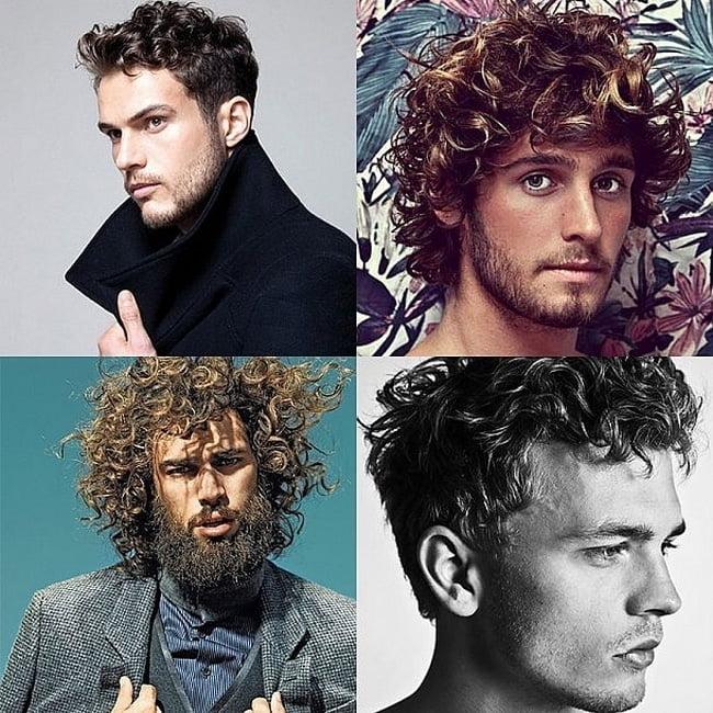 Cortes de cabelo cacheado masculino HQSC 1